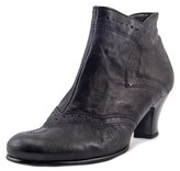 Gabor 71.573 Women Round Toe Leather Black Bootie.