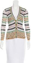 M Missoni Striped V-Neck Cardigan w/ Tags