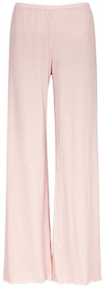 Skin Light Pink Pima Cotton Pyjama Trousers