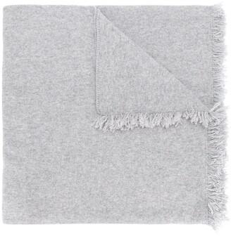 Pringle fringed trim lightweight scarf