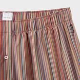 Paul Smith Men's Signature Stripe Cotton Slim Boxer Shorts