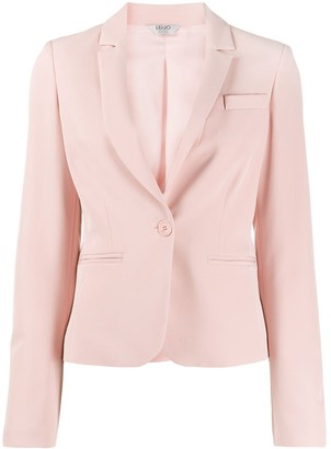 Liu Jo Tailored Single-Breasted Blazer
