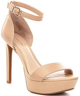 Gianni Bini Pamona Ankle-Strap Leather Dress Sandals