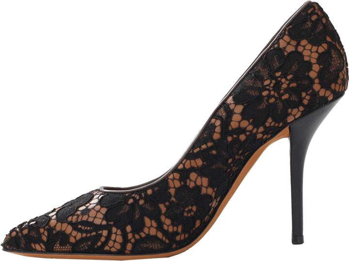Givenchy Lace Over Leather Pump