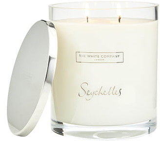 The White Company Seychelles Indulgence Scented Candle