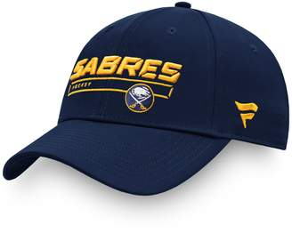 Buffalo David Bitton Men's Fanatics Branded Navy Sabres Authentic Pro Rinkside Structured Adjustable Hat