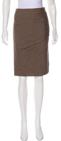 46a94b7a0e86c0 Wool Pleated Skirt - ShopStyle