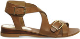 Office Boulevard leather wedge sandals
