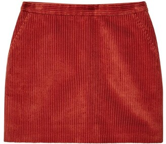 Jack Wills Mae A Line Cord Skirt