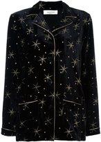 Valentino star embroidered pyjama top