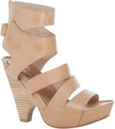 Max Studio Novella - Leather Scooped Wedge Sandals