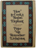 One Kings Lane Vintage How to Cook a Rogue Elephant