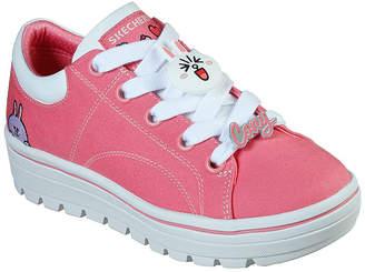 Skechers Women's Sneakers HTPK - Hot Pink Line Friends Street Cleat 2 Canvas Sneaker - Women