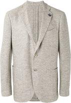 Lardini classic blazer - men - Silk/Linen/Flax/Cupro/Wool - 52