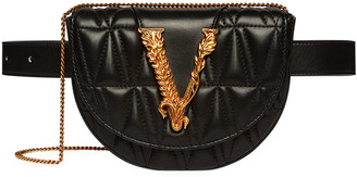 Versace Quilted Napa Belt Bag
