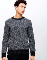 Edwin Dock Knitted Jumper Black/Charcoal