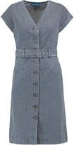MiH Jeans Tucson Striped Denim Dress
