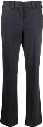 Aspesi Mid-Rise Straight-Leg Trousers