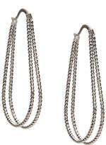 Kelly & Katie Women's Teardrop Hoop Earrings