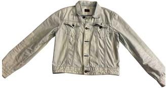 Evisu Blue Denim - Jeans Jackets