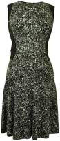 Kenneth Cole New York Fleck Print Dress