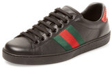Gucci Striped Low Top Sneaker