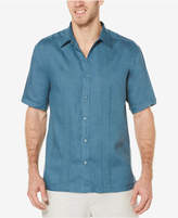 Cubavera Men's 100% Linen Corded Shirt