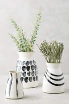 Anthropologie Kupio Handpainted Vase Set