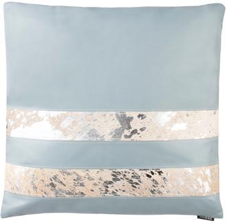 Safavieh Kinston Metallic Cowhide Pillow