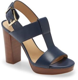 MICHAEL Michael Kors Becker Block Heel Platform Sandal