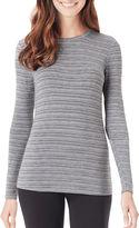 Cuddl Duds Softwear Long-Sleeve Crewneck T-Shirt