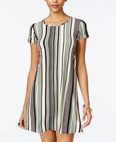 Planet Gold Juniors' Striped Swing Dress