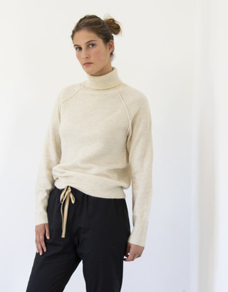 Busby & Fox - Rainy Recycled Roll Neck Sweater - Extra Small (8