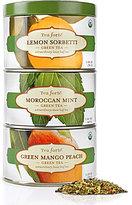 Tea Forte Stacked Loose Leaf Green Tea Tin Trio