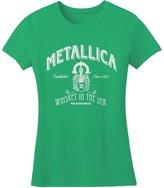 Metallica - Whiskey in a Jar Juniors T-Shirt