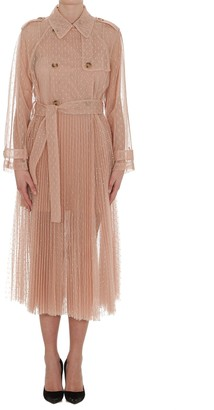RED Valentino Tulle Point Desprit Trench