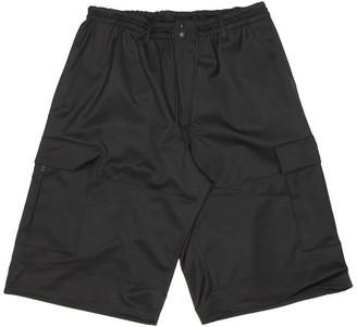 Y-3 Black Short Cargo Pants