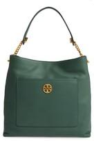 Tory Burch Chelsea Chain Leather Hobo - Green