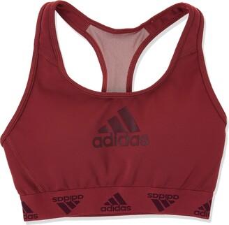 adidas Women's Dont Rest Alphaskin Padded Badge of Sport Bra