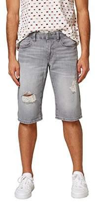 Esprit edc by Men's 038cc2c005 Short, Grey Light Wash 923, ((Size: 32)