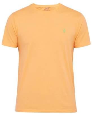 Polo Ralph Lauren Logo-embroidered Cotton-jersey T-shirt - Mens - Orange
