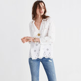 Madewell Eyelet Popover Top
