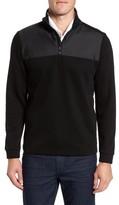 BOSS Men's C-Piceno Quarter Zip Fleece Pullover