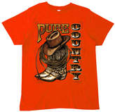 Micro Me Orange 'Pure Country' Tee - Toddler & Boys
