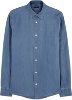 Tiger Of Sweden Donald Cotton Chambray Shirt