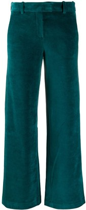 Circolo 1901 Velvet-Effect Trousers