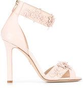 Elie Saab floral studs sandals