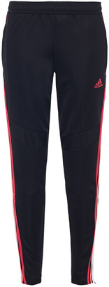adidas Mesh-trimmed Printed Jersey Track Pants