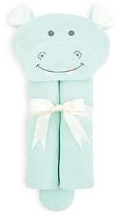 Elegant Baby Unisex Hippo Bath Wrap