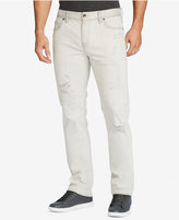 William Rast Men's Slim Straight Fit Dean Ripped Jeans